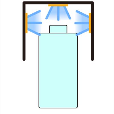 深UV-LED消毒トンネル 写真